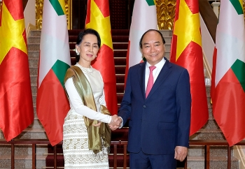 vietnam myanmar look towards us 1 billion in two way trade