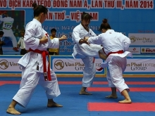seventh southeast asia karate champs opens in bac ninh