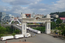 export via lao cai intl border gate remains stable