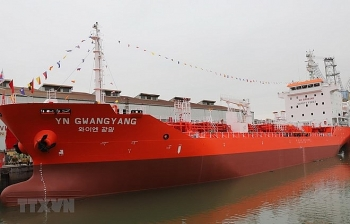 6500 tonne oil tanker delivered to rok