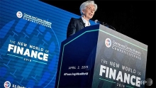 brexit delay averts terrible outcome imfs lagarde