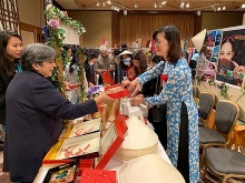 vietnam participates in charity fair in japan