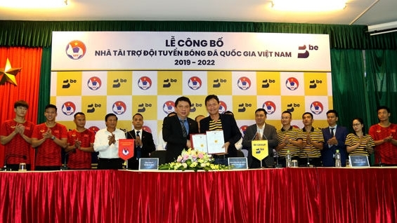 be group to sponsor vietnamese football teams for next three years
