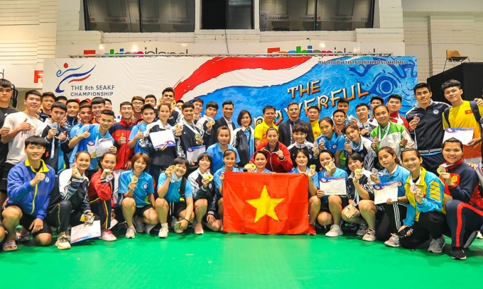 vietnam dominate southeast asian karate championship