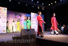 vietnams ao dai introduced at global fashion event in india