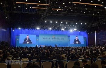 second belt and road forum for international cooperation opens in beijing