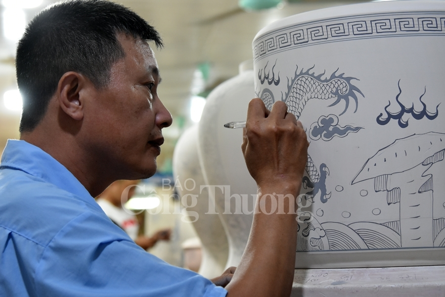 giang cao pottery village