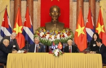 vietnam cuba trade agreement officially takes effect