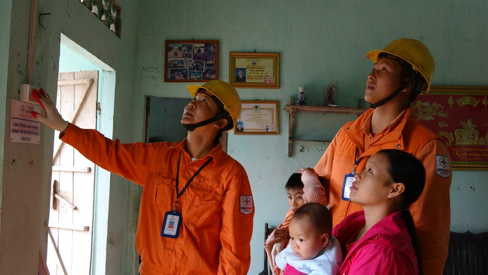 evn hanoi ensures reliable power for capitals rural areas