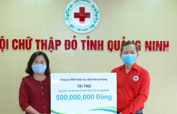 power firm donates vnd500 million for quang ninh covid 19 relief