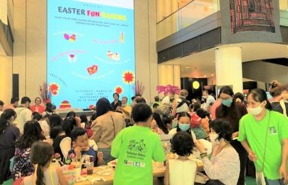 german vietnamese enjoy easter celebration in hcmc