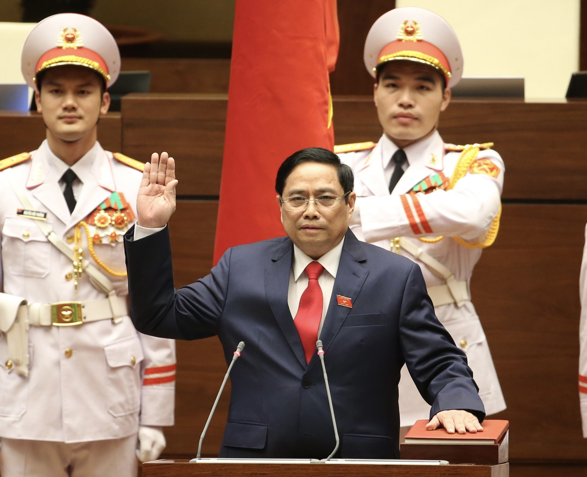 pham minh chinh elected prime minister of vietnam