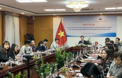 vietnam republic of korea share experience in logistics and distribution