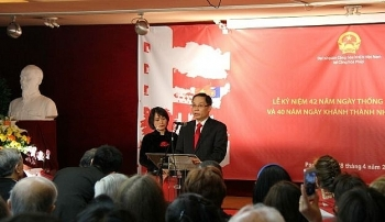 vietnams national reunification day celebrated abroad