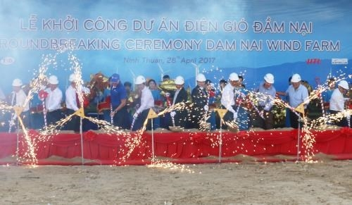 wind power plant built in ninh thuan
