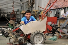 from motorbike repairman to agricultural machine inventor