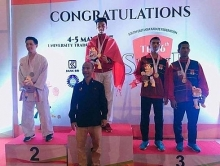 vietnamese karatekas win 22 golds at regional championship