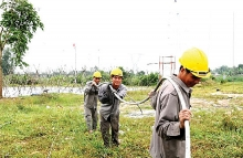 national grid lights up cu lao cham island
