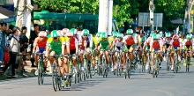 gao hat ngoc troi cycling race 2017 kicks off