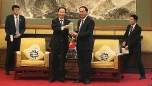 vietnam values front cooperation with china president