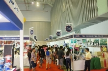 top thai branded products displayed in hcm city