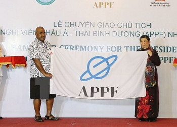 vietnam gets asia pacific parliamentary forum chair from fiji