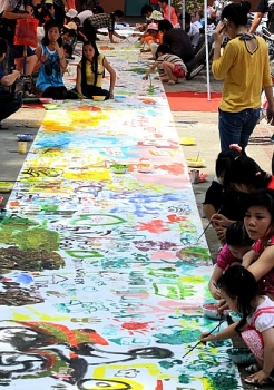 hanoi festival to engage kids in creating inspiring mosaic