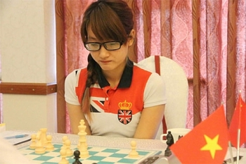 vietnamese master holds her lead at womens blitz in china