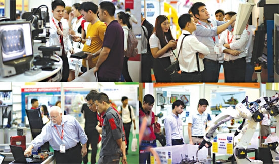 expo brings fourth revolution to vietnam industry