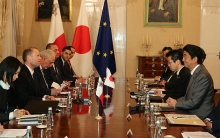 eu japan trade agreement top priority for eu maltese pm