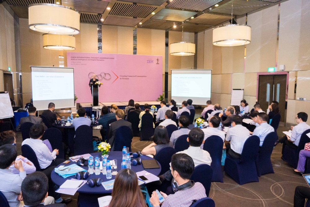 artificial intelligence and big data at epicenter of icaews 2018 regional thought leadership roadshow