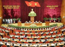 party central committees 7th plenary session opens