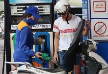 petrol prices slightly increase
