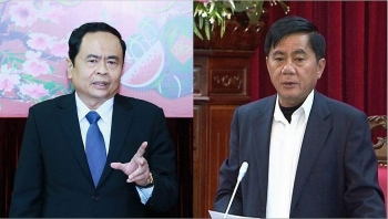 party central committee elects two additional members to secretariat