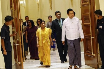 myanmar india sign various cooperation deals