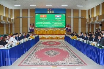 vietnam cambodia promote border trade