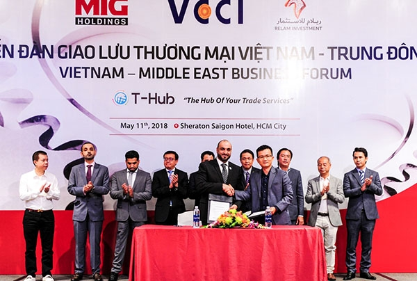 vietnam middle east boost trade investment