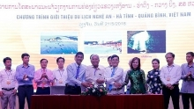 vietnams north central provinces promote tourism in laos