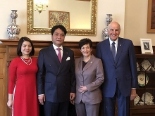 new zealand governor general supports cooperation with vietnam