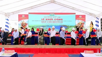 work begins on bio organic fertilizer plant in vinh phuc