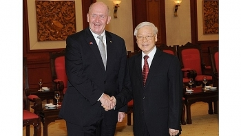 vietnam attaches importance to ties with australia party chief