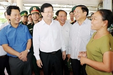deputy pm inspects seafood catching trading in ha tinh