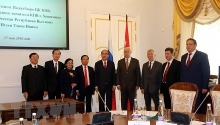 hcm city st petersburg hold substantial cooperation potential