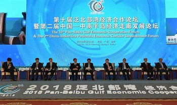 vietnam joins 10th pan tonkin gulf economic cooperation forum