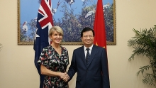 vietnam key partner of australia in asia pacific australian fm