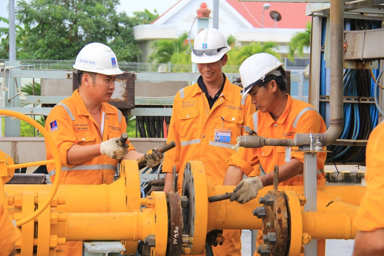 pvgas ca mau safely handles incident of pm3 gas pipeline system