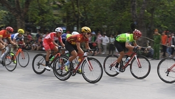 bicycle race kicks off to mark dien bien phu victory