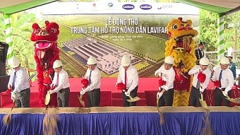 first farmer support center constructed in tra vinh province