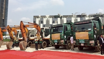 work starts on japanese invested apartment buildings in hai phong