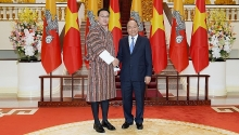 vietnam keen to boost comprehensive relations with bhutan pm